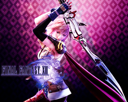 Final Fantasy XIII: Lightning - WALLPAPER by Silas-Tsunayoshi