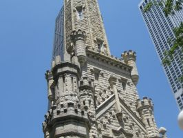 Chicago Watertower by lee-mare