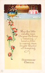 Birthday Cheer Vintage card by SolStock