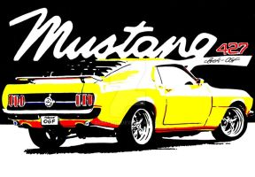 Ford Mustang 427 SOHC Cammer by Arek-OGF