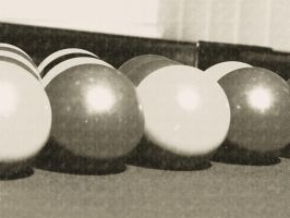 Pool Balls old stlye by theindieboy