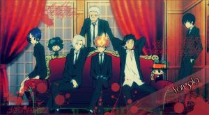 Vongola Family by chidory-san