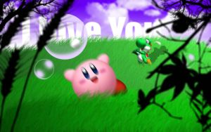 Yoshi and Kirby's Golf by BeeJayBeeJay