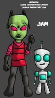 Invader Zim by J-Mace