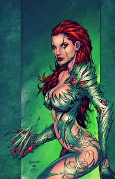 Broussard's Witchblade - Colors by TracyWong