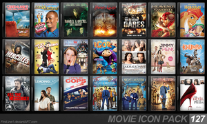 Movie Icon Pack 127 by FirstLine1