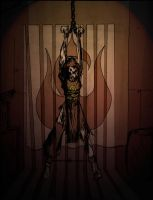 Azula in Chains by josedude