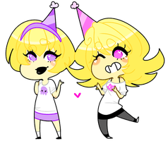 Happy Birthday Rose and Roxy by HeartTier