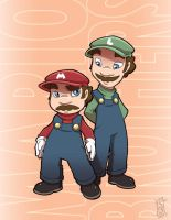The Plumbers by SeriojaInc