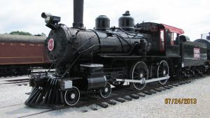 Central Railroad of Georgia No. 349 by gh22