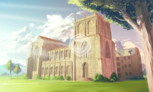 Main Background (School) - Visual Novel Commission by ExitMothership