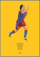 Xavi the Playmaker by theblastedfrench
