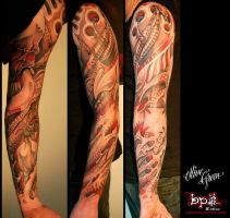 Biomeca tattoo by BPS-TATTOO