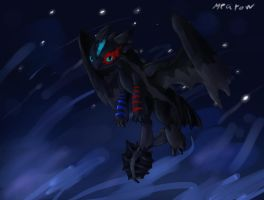 Commision: Nightclaw the fury by Mearow