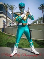 MMPR Green Ranger: Dragonzord Power! by effektdmentality