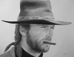 Clint Eastwood 'AR' by AnthonyRojas