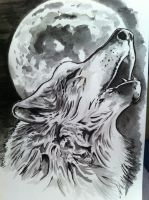 Wolf Moon by PtahSeker
