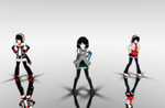 MMD+UTAU : shake it by HimeHimeka02