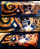 Dr Who's Exploding Tardis by AndreaOfTheLand