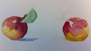 Apples (Watercolors) by SherryVeramuto