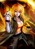 let's try this out (Yang Xiao Long) by X-kulon