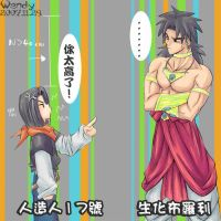 17 and broly by kotenka1984
