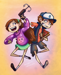The Mystery Twins by CaptainMoony