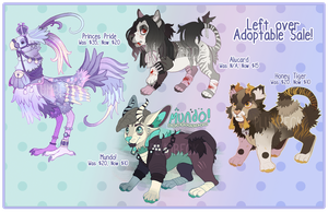 Left-Over Adoptable Sale [CLOSED] by Plumbeck