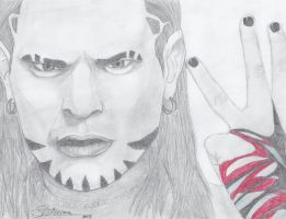 Jeff Hardy by NothingLessThanEpic