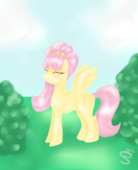 Fluttershy by SaraSweet