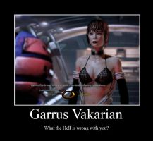 Garrus Vakarian Demotivational by Sirus-XIII