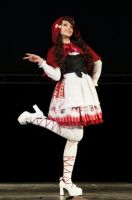 Red riding hood lolita by Katherin-Wheel