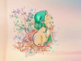 Flower fairy by geory