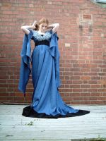 Blue Dress Stock 8 by Elandria