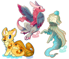 Shibutts and Other Babs .:Gifts:. by RoyaITea