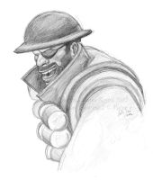 TF2 Demoman by birdofyore