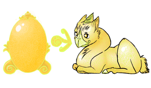 {OS Egg Hatch} Royal Nuroo by here-kitty--kitty