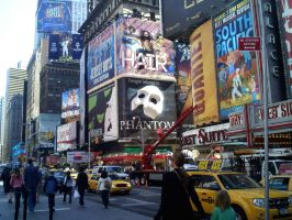 Times Square by adamsk8