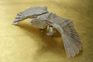 Eagle by origamaniac
