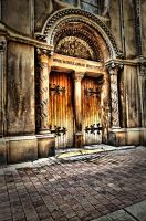 Doorway to an outer world by OlivierAccart