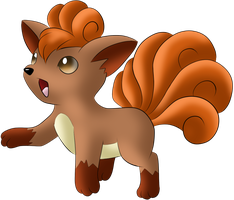 #037 Vulpix by Icedragon300