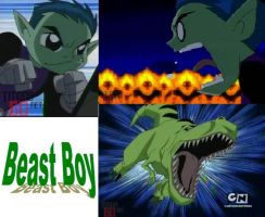Beast Boy wp by NatOreN