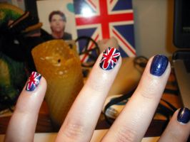 Union Jack Nails by TilskKarishma