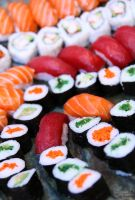 A School of Sushi by EnchantedCupcake