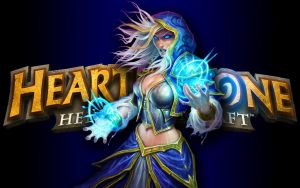 Hearthstone Wallpaper - Jaina v4 by mgbeach