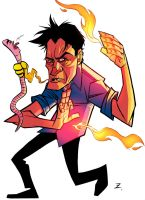 Charlie Sheen by Zeigler