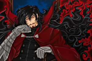 Hellsing: Alucard Ultimate Form by starxade