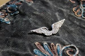 Steampunk Wings Lapel Pin by kittykat01