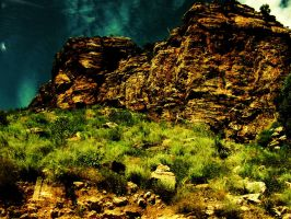 Rose Canyon 11 - Deep Blue by TaoPhotography