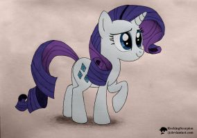 Simple Rarity - Digicolored by RockingScorpion